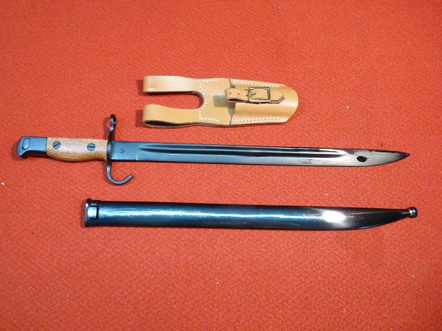 WINDLASS金属製・30年式銃剣