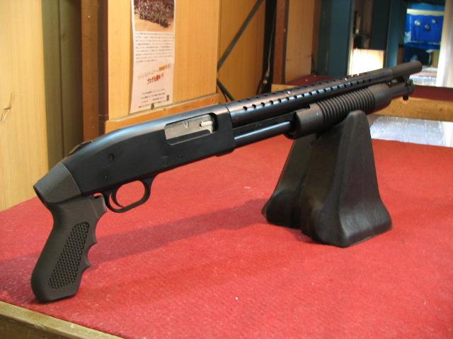 モスバーグ M500 クルーザー ブラック 6mmBB弾仕様 (D01)