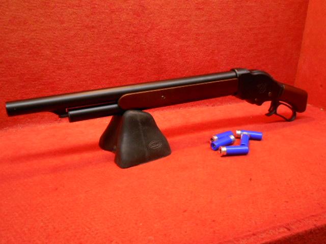 マルシン・M1887 ソードオフ 木製ストック ガスショットガン【スマホエントリーP10倍】