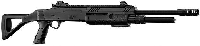 STF-12 18in BK エアーショットガン