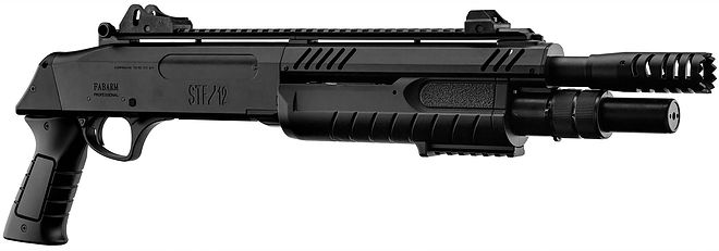 STF-12 11in Short BK エアーショットガン