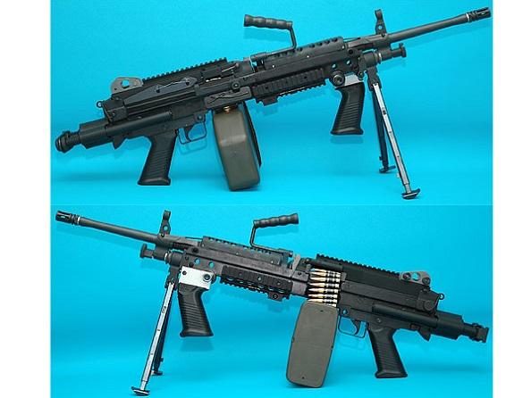 【エントリーでポイント10倍】【送料無料対象外】G&P電動LMG・MINIMI M249 Ranger 電動ガン
