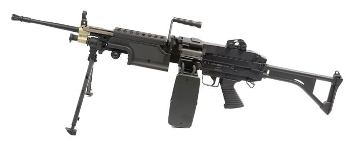 【送料無料対象外】A&K・ミニミ 自衛隊仕様 5.56mm機関銃 M249 ノーマルモデル【スマホエントリーP10倍】