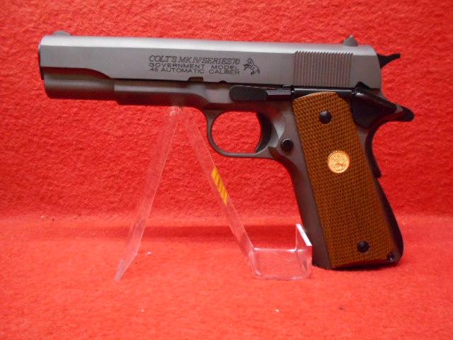 MULE/タニオコバ発火型モデルガン・GM7.5 COLT ガバメント Series80