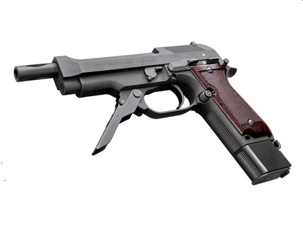 KSC: モデルガン M93R 2nd HW(ベレッタ,マシンピストル,ブローバック)
