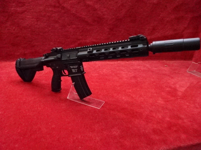 AD・フルメタル電動ガン HK416D BKあるいは2TONE
