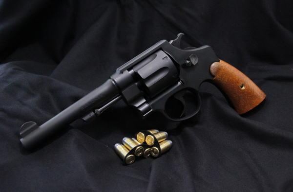 タナカモデルガン・S&W M1917 cal.45ミリタリー 5.5iin