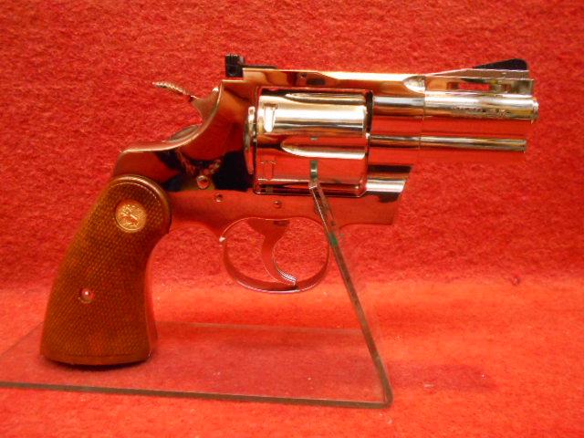 タナカワークス・コルト パイソン .357マグナム 2.5インチ R-model ニッケルABS モデルガン