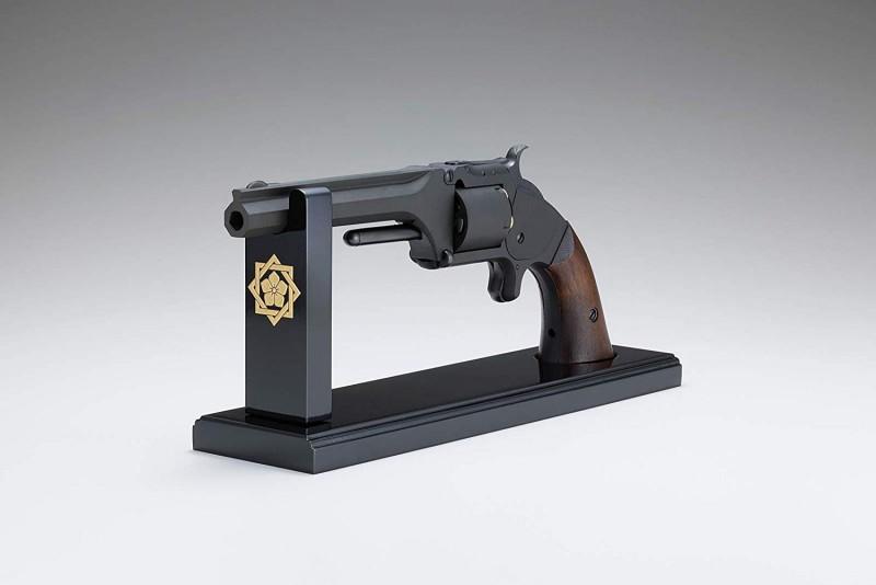 「坂本龍馬の銃」紋章入り木製掛け台付き プレミアモデル 特別価格限定モデルガン・モデル2アーミー