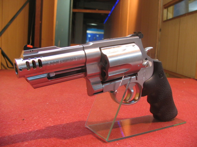 タナカワークス・S&W M500 3inch + 1 ステンレス Version2 ガスガン