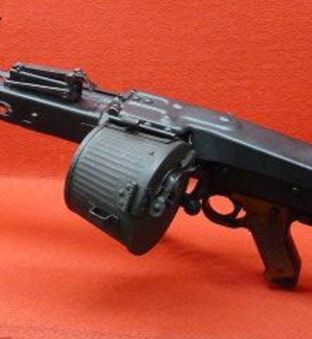 S&T MG42用電動3000連ドラムマガジン