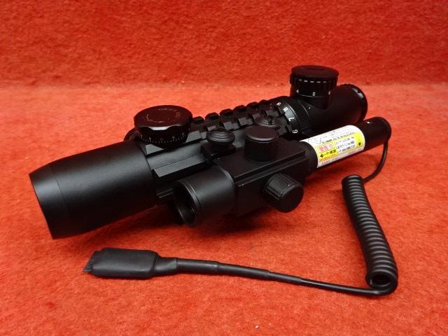 レーザーポインター装備ライフルスコープ LP-3 3~9×26EL (287)