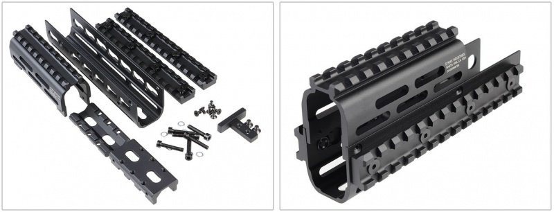 AK TRAX1&2セットKEY-MOD レイルハンドガード