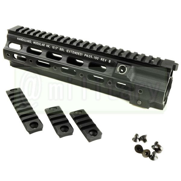 D HK416用 GEISSELE タイプ SMR 10.5インチ ハンドガード BK  マルイ次世代HK416対応