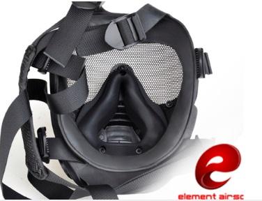 SCOTT GSRタイプガスマスク レンズ/メッシュ切替式 ファン付きゴーグル BK