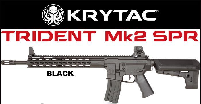 KRYTAC(クライタック)TRIDENT Mk2 SPR トライデント マーク2 シリーズ カラー:ブラック