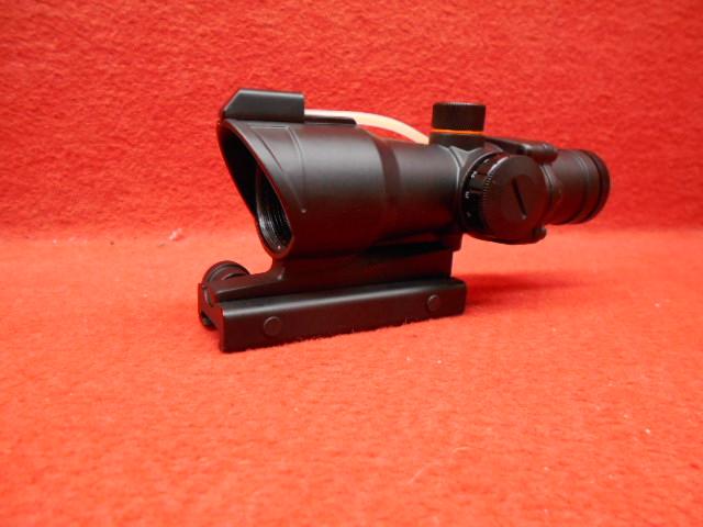 HYUGA・ライフル スコープ NTR 4×30 FB REDレティクル ACOGタイプ (233)【エントリーで最大P22倍】