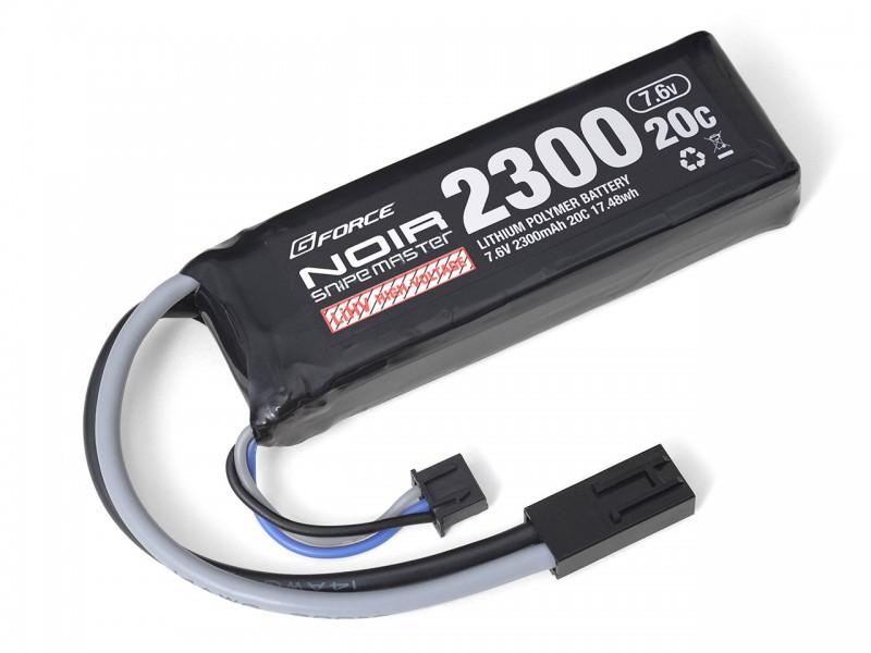 電動ガン エアガン エアーガン 東京マルイ モデルガン ガスガン ハンドガン1222 G FORCEの次世代高電圧LI-HV Noir メーカー公式ショップ あす楽 20C Master 激安セール 7.6V 2300mAh Li-Po Snipe ミニSバッテリー互換タイプ