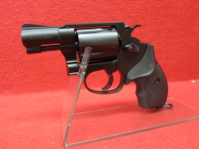 タナカワークス・S&W M37 J-police 警察仕様 2inch ブラックHW バージョン2 ガスガン