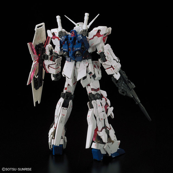 "From BANDAI 1/144 scale RG unicorn Gundam ""Mobile Suit Gundam UC"" (unicorn)"