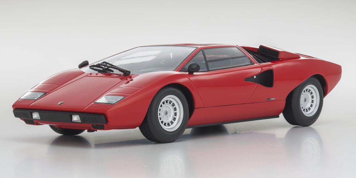 Kyosho 1 18 Lamborghini Countach Lp400 Red Ousia Series