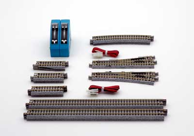 KATO (Kato) (V4) one-sided for home lines wrong line small electric point set railway model fs3gm