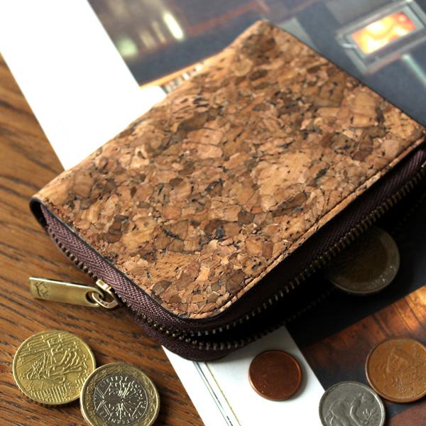 ■コルクレザーのコインケース「CONNIE Coin Card Case」