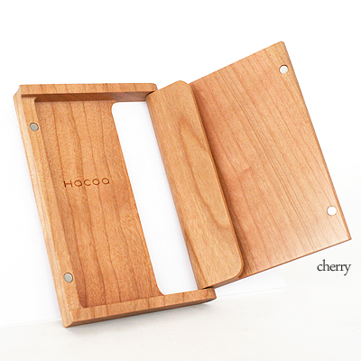 Mokko ya rakuten global market wooden business card holder wooden business card holder card case hacoa cardcase cherry colourmoves