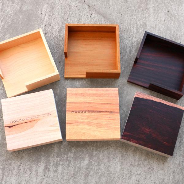 ■ using real wood & wooden memo pad tray set, gadgets / Scandinavian design