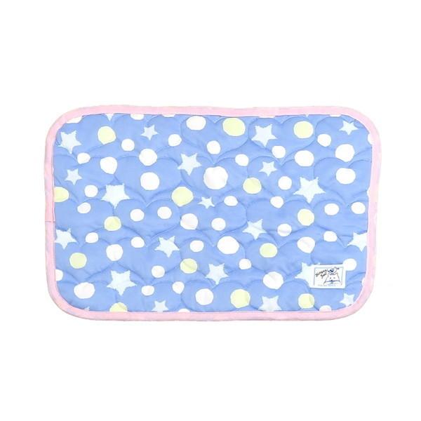 シロクマ印のひんやり 冷感 まくらパッド ブルー KMJ32-80-3 4990936288015 KMJ32-80-3 シロクマ印のひんやり 冷感 まくらパッド ブルー KMJ32-80-3