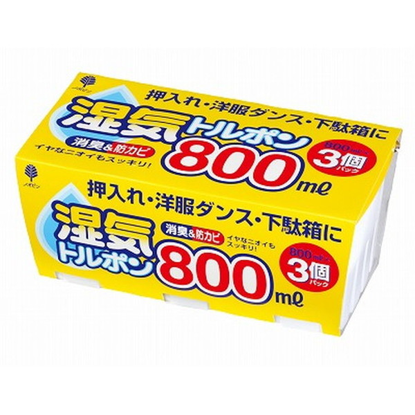 J-6005 湿気トルポン 800ml お歳暮 日本最大級の品揃え ×8個セット 3個パック