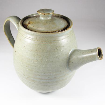 Teapot -Tanba Tachikui Pottery-