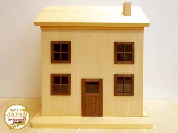 ドールハウス風 収納棚(片引き・ナチュラル)日本製/1/12~1/16/木製/無塗装・完成品