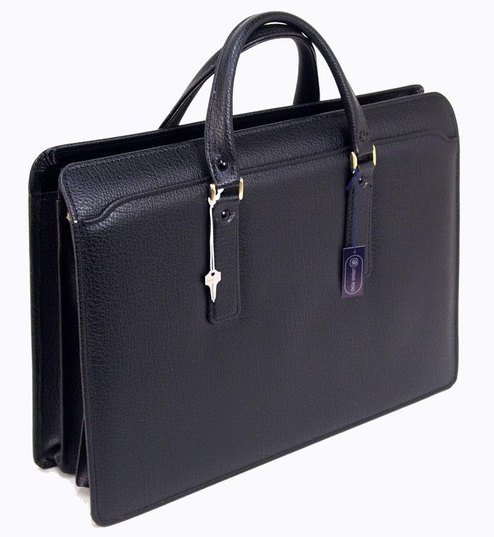 ビジネスバッグ バッファロ柄 アオリブリーフバッグ メンズ 44.5cm 合皮 日本製 豊岡【あす楽対応】送料無料