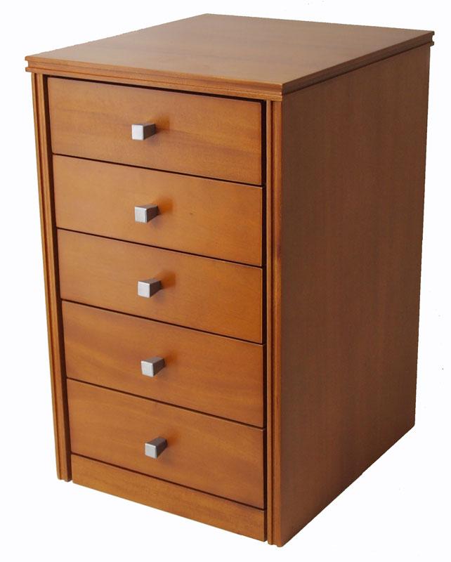 木製デスクチェスト 引出し収納 70%OFFアウトレット 木製書類入れ B品 ミニチェスト5段 ナイトテーブル 曙工芸 ライトオーク色 送料無料 整理箱 35幅 AS-2135LO 与え