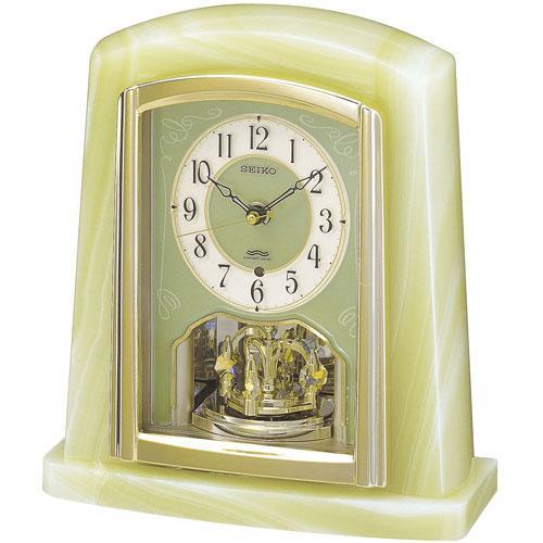 セイコー電波置き時計 スワロフスキー・エレメント BY223M 送料無料 電波時計 置き時計SEIKO