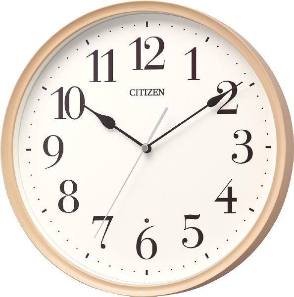 リズム時計 電波掛け時計 8MY528-013