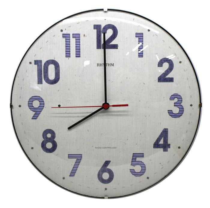 送料無料 リズム電波掛時計 カフェスタイル131 8MYA20RH04【あす楽対応】