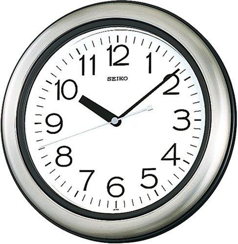 送料無料 セイコー 掛け時計 キッチン バスクロック 洗える時計クオーツ 強化防湿・防塵 KS463S【あす楽対応】