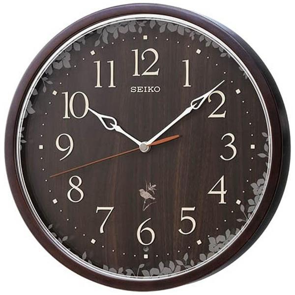 送料無料 セイコー 電波掛け時計 Natural Style(ナチュラルスタイル)RX215B【あす楽対応】