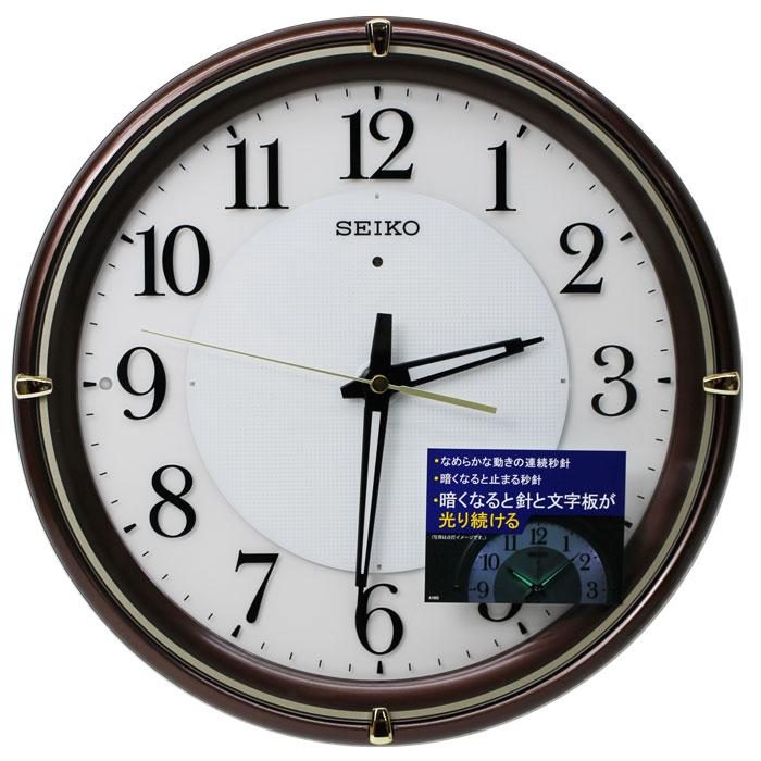送料無料 セイコークロック SEIKO 電波時計 セイコー掛け時計 壁掛け ファインライトNEO KX233B【あす楽対応】
