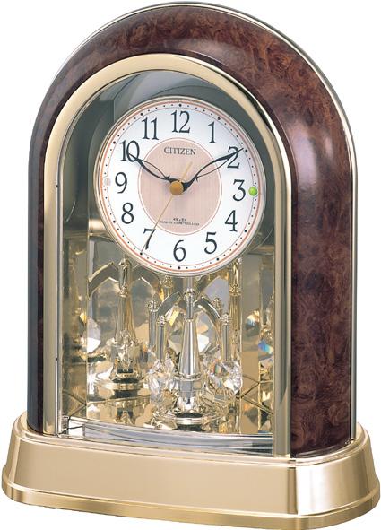 シチズン/リズム時計 置時計 パルドリームR656 4RY656-023アナログ