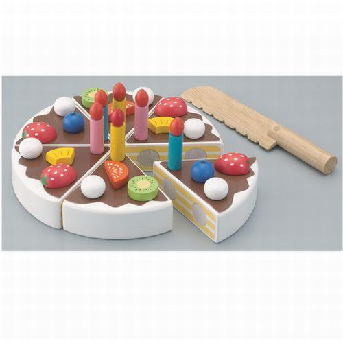 パティシエ気分になれちゃうケーキ屋さんごっこ遊び ままごとの木のおもちゃ たのしいケーキ職人 木のおもちゃ ケーキ おままごと 4歳 誕生日 パティシエごっこ 驚きの値段 上品 3歳 プレゼント エドインター