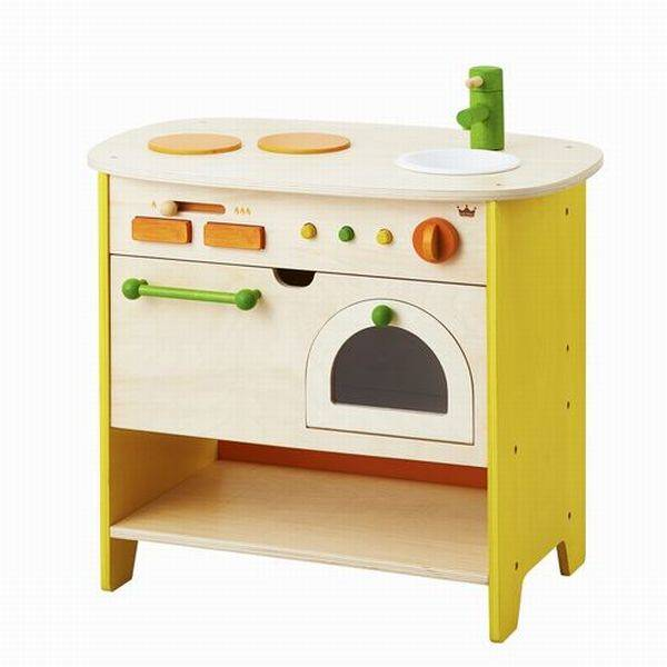 森のアイランドキッチン エド・インター ままごと キッチン 木のおもちゃ 3歳 4歳 誕生日 プレゼント