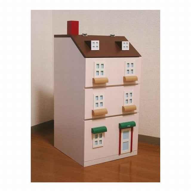 タウンチェスト1番地 ピンク 収納 家具 子供部屋 インテリア 日本製