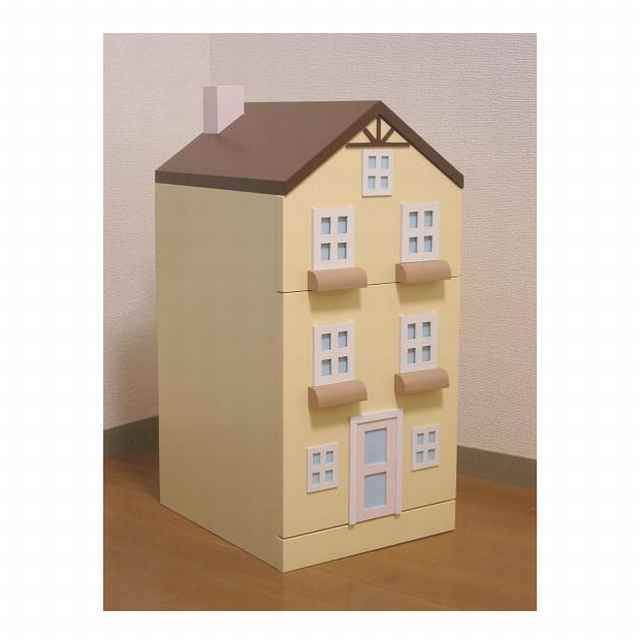 タウンチェスト2番地 イエロー 収納 家具 子供部屋 インテリア 日本製