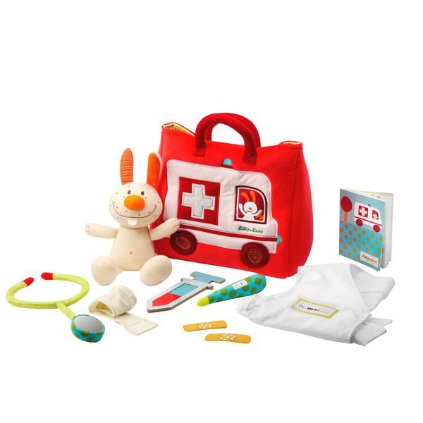 リリピュション Lilliputiens リトルドクターズ お医者さんごっこ 布のおもちゃ 出産祝い 1歳 2歳 3歳 誕生日 プレゼント