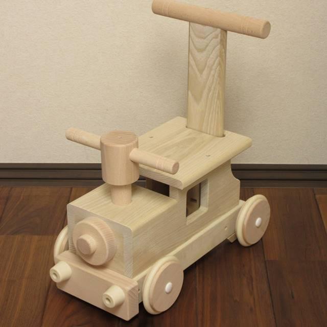 赤ちゃんの手押し車 森の汽車ポッポ 乗用玩具 出産祝い 1歳 2歳 誕生日 プレゼント