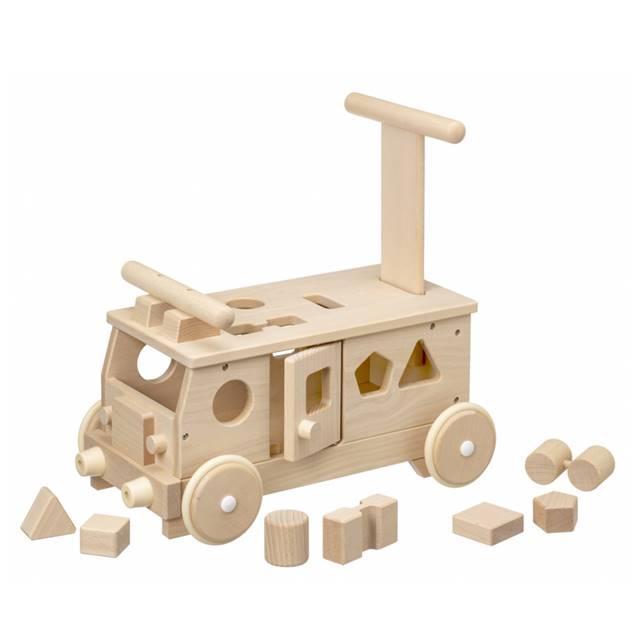 森のパズルバス 赤ちゃん 手押し車 乗用玩具 出産祝い 1歳 2歳 誕生日 プレゼント
