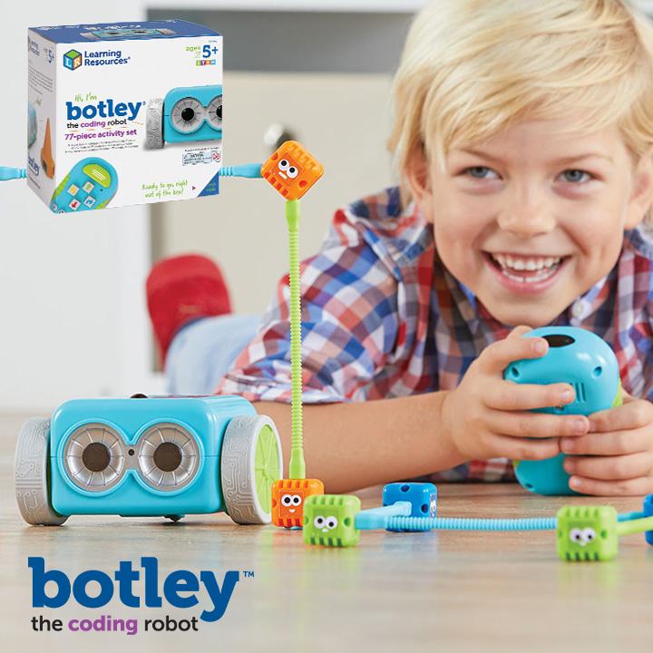 【割引クーポン配布中】ラッピング無料【CEマーク付き/77点セット】ボットリー コーディングロボット アクティビティセット おもちゃ 小学生 幼児 LER2935 Learning Resources ギフト プレゼント 5歳 6歳 7歳
